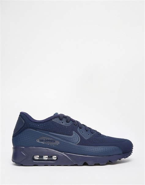 Nike Sz 39 43 Navy nike air max 90 ultra moire midnight navy mens 819477 400