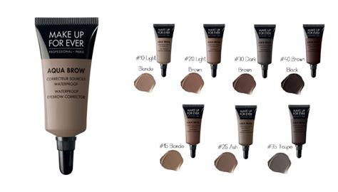 Makeup Forever Eyebrow Gel waterproof eyebrow corrector aqua brow