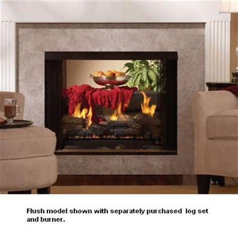 Fireplace Louvers by Empire Breckenridge Premium Vent Free See Thru Gas Firebox