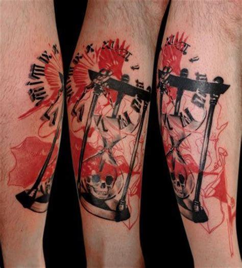 trash polka hour glass | tattoo ideas / trash polka