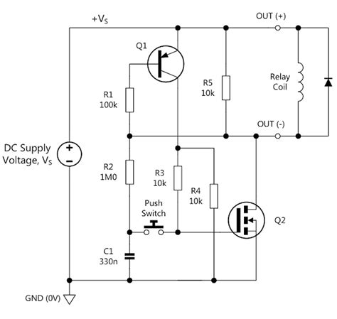 latch switch circuit diagram circuit and schematics diagram