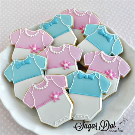 Order Baby Shower Cookies by Custom Sugar Cookies Decorated With Royal Icing To