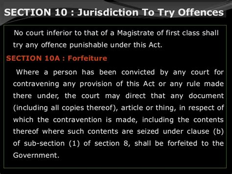 section 10a conviction the drugs and magic remedies objectionable advertisements