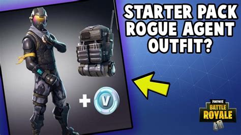 fortnite rogue fortnite starter pack explained how to get it and rogue