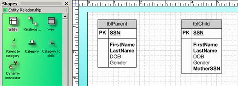 visio er diagram template creating er diagrams with ms visio