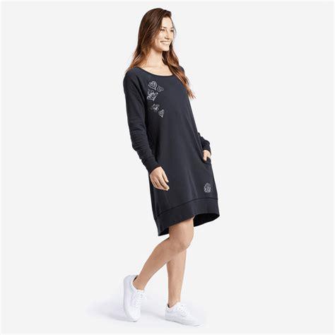 Lifeisgood Sweatshirt Black s mandala sweatshirt dress is 174 official site
