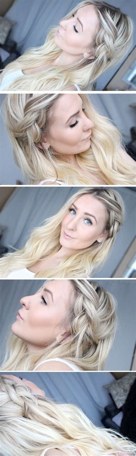 hairstyles lazy girl quick and chic hairstyle tutorials for lazy girls pretty