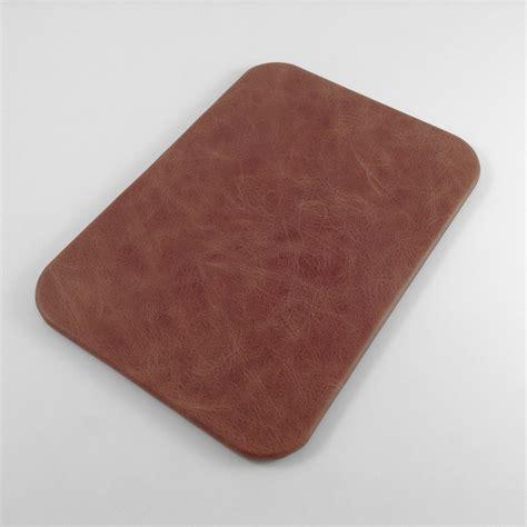 vintage leather desk pad distressed genuine