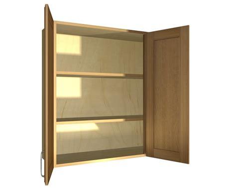 2 door right blind corner wall cabinet