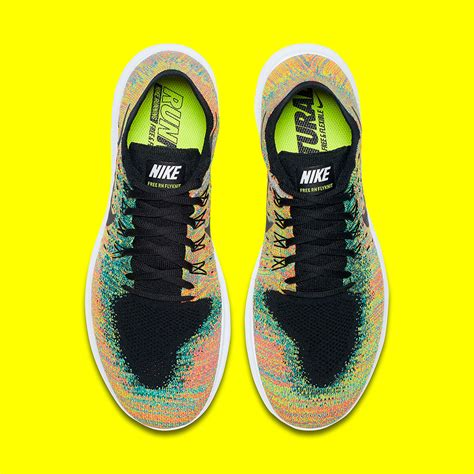 multi colored nikes nike free rn flyknit multicolor 880843 005 sneakernews