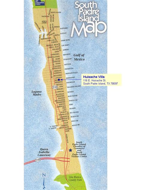 south padre island map south padre island vacation home rental