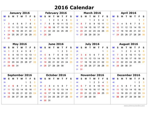 calendar template for word 2007 2016 calendar printable one page page 2 of 7 when is