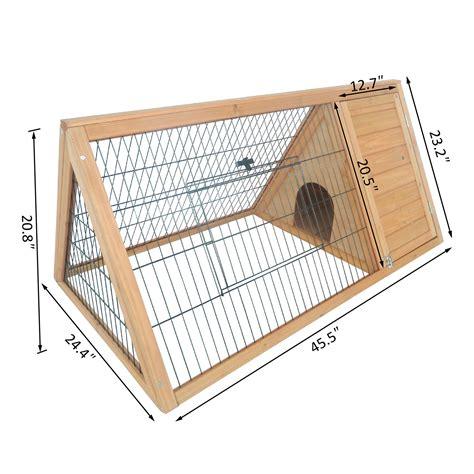 Guinea Pig Wood House Plans