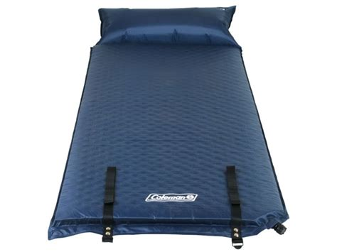 coleman self inflating air mattress pillow