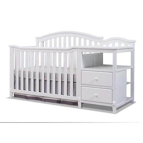 sorelle convertible crib white sorelle berkley crib and changer white babies quot r quot us