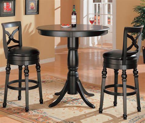 3 piece pub table coaster lathrop 3 piece bar table set value city