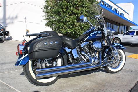 Harley Davidson Factory Custom Paint by 2007 Harley Davidson Flstn Softail Deluxe With Factory