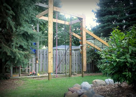 backyard warrior course our ninja warrior obstacle course