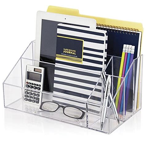 home office desk organizer clear acrylic desktop organizer work home office desk file