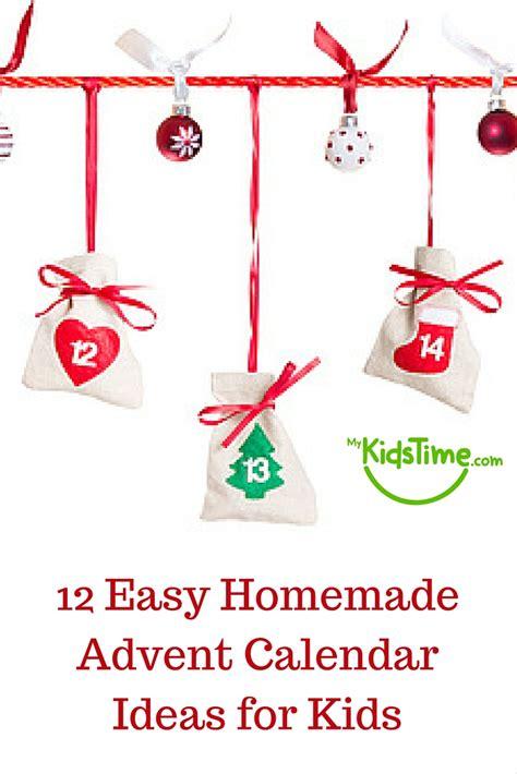 advent calendar ideas for to make 12 easy advent calendar ideas for