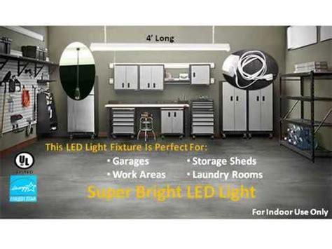 48 led shop light 48 watt bright led shop light fixture superior