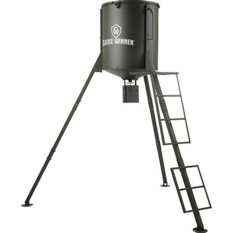 Deer Feeder Timers Academy Image For Winner 174 600 Lb Big Quot A Quot Feeder From Academy