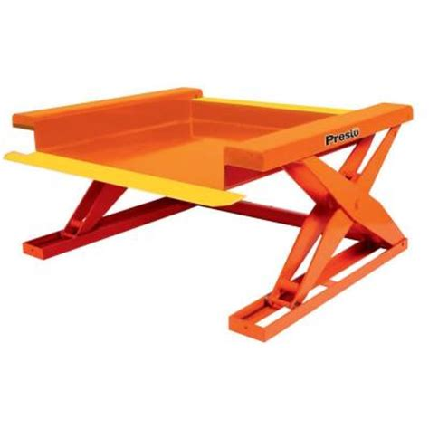 presto lifts 2000 lb pallet accessible lift table