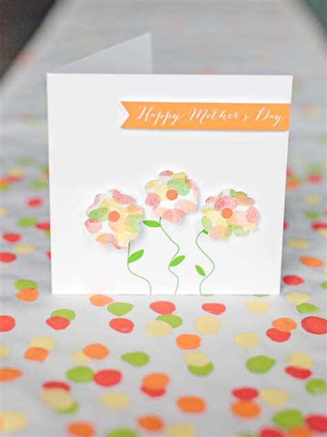 Handmade Mothers Day Card Templates by Printable Flower Garden S Day Card Hgtv