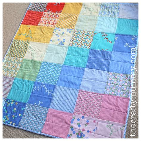 Charm Square Quilt by Charm Square Baby Quilt Flickr Photo
