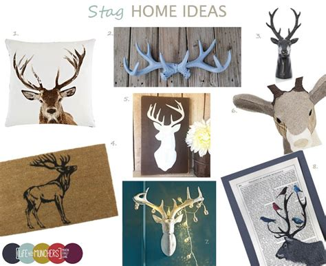 stags head home decor shop the trend stag head home decor family home