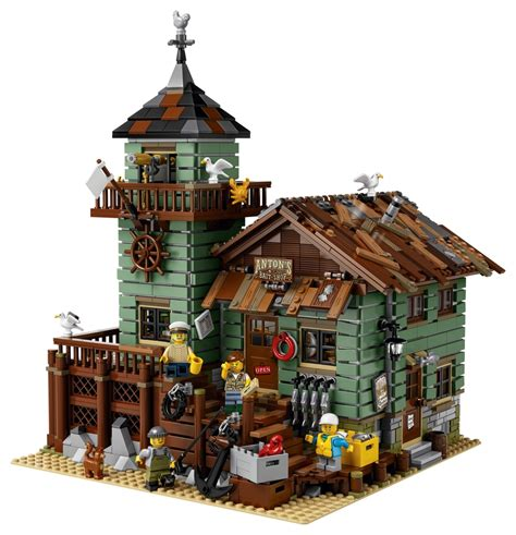 building ideas blog part 9 lego ideas 21310 old fishing store レゴ アイデア オールド フィッシング