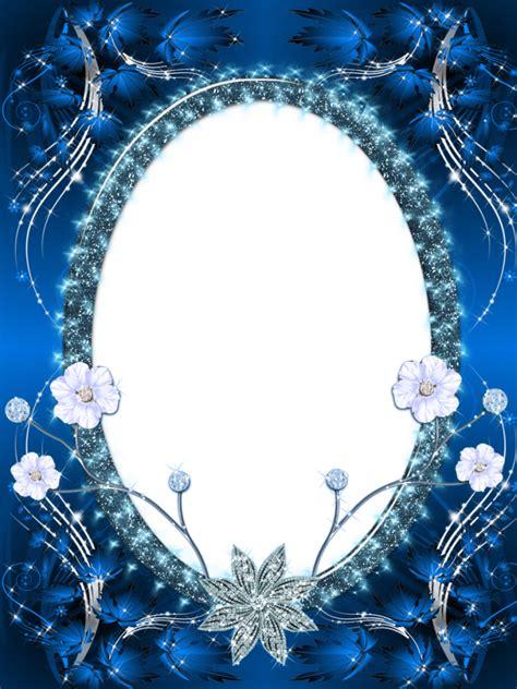 Hermosa Photo Frame Minimalis5r Blue beautiful blue transparent png photo frame photo