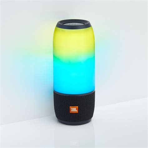 jbl light up speaker jbl s latest pulse speaker is a party in a pocket pickr