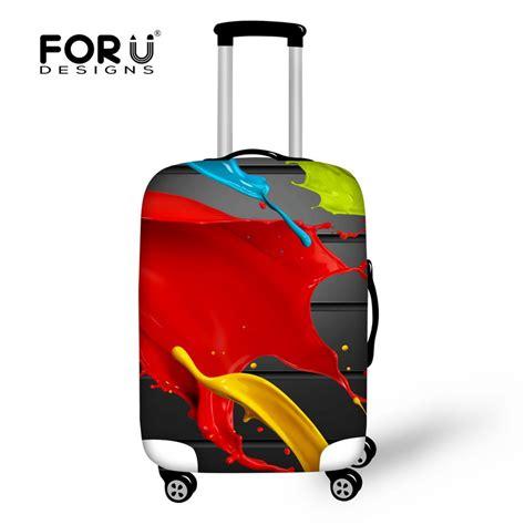 Luggage Cover Elastic 24 women elastic luggage ᗐ covers covers leaf printed travel luggage cover ჱ waterproof waterproof
