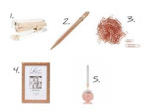 Rose gold desk accessories your desk needs some of my favourite