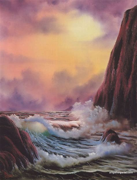 bob ross painting waves the 25 best bob ross paintings ideas on bob