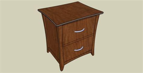 bedroom nightstand woodworking plans plans diy