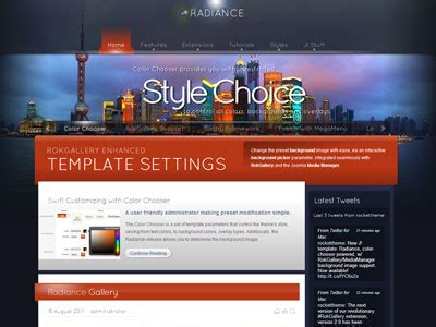 template joomla video background radiance joomla template joomla background image
