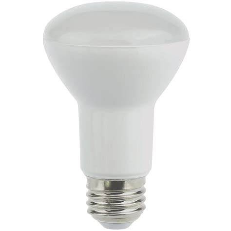 Led Light Bulb Home Depot Lighting 50w Equivalent Soft White E26 Dimmable Led Light Bulb Br20led101 The Home Depot