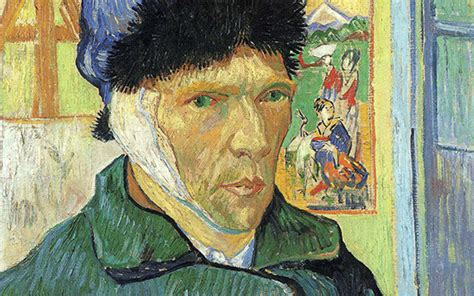 van goghs ear the 1784740616 van gogh self portrait with bandaged ear article khan academy