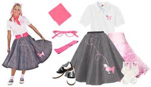 Home poodle skirt outfits adult coordinated outfits 8 pc 50 s