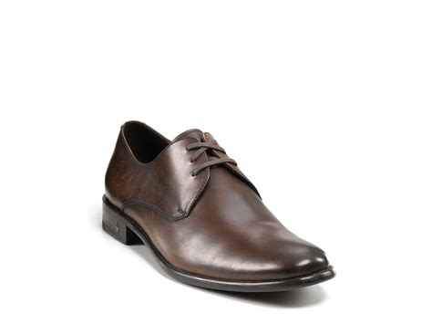 brown oxford dress shoes varvatos usa dress oxford shoe in brown for