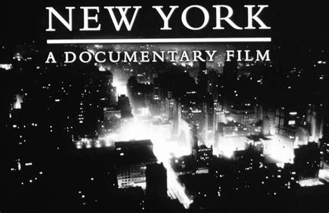 Or Documentary New York A Documentary Aha