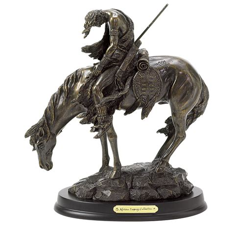 the end of the trail statue wholesale at koehler home decor