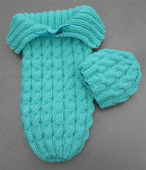 knit newborn knitted baby cocoons the whoot
