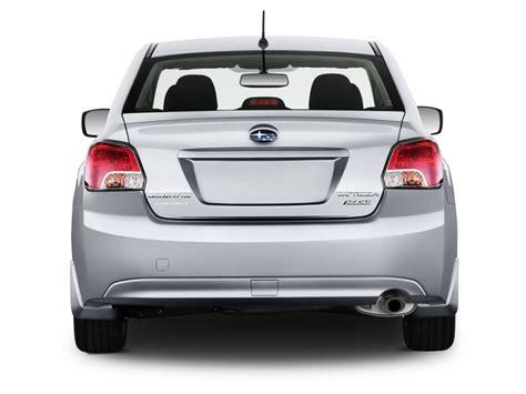 subaru car back image 2014 subaru impreza 4 door auto 2 0i rear exterior