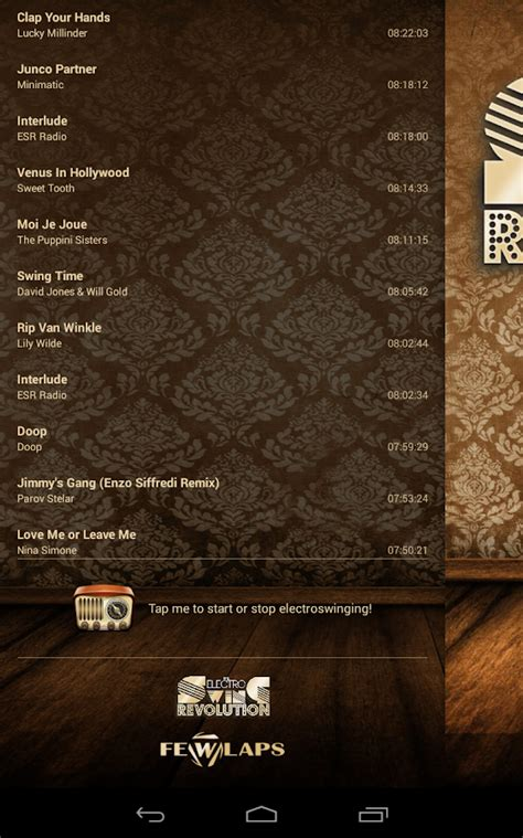 electro swing revolution electro swing revolution radio android apps on google play
