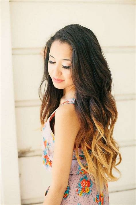 dyed hairstyles for black shatush per capelli castano scuro