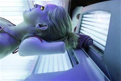 sunburn from tanning bed avoid tanning salons they are bad for your health and