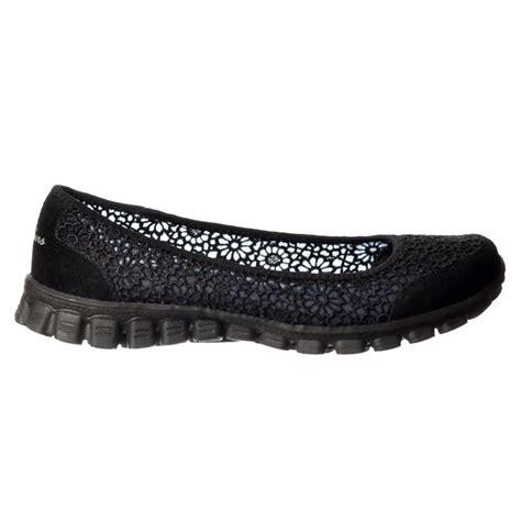 skechers flats shoes skechers sweetpea memory foam ez flex 2 cushioned ballet